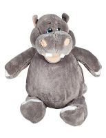 Personalised Cubbies Hippo Grey